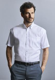 Camisa clásica non-iron manga corta hombre