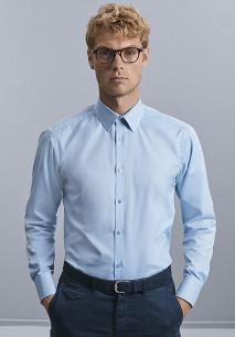 Camisa Espiga manga larga hombre