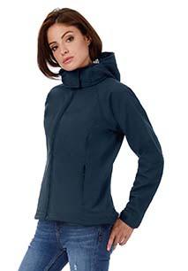 Chaqueta Softshell con capucha mujer
