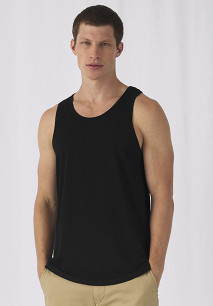 Camiseta orgánica Inspire sin mangas hombre