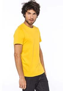 Camiseta con cuello redondo de hombre