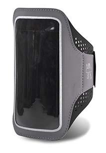 Brazalete para smartphone con trabilla para auriculares
