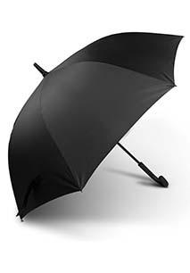 Paraguas clásico con mango redondo