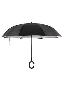 Paraguas invertido manos libres