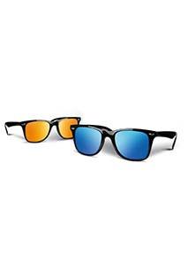 Gafas de sol con cristales efecto espejo