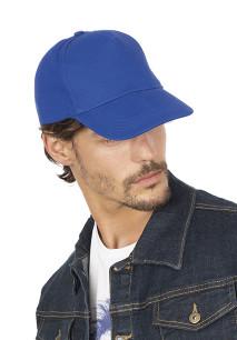 Gorra de algodón grueso - Cinco paneles