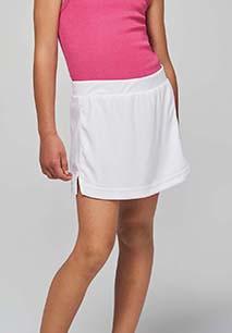 Falda de tenis niña
