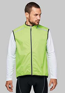 Chaleco ciclismo unisex