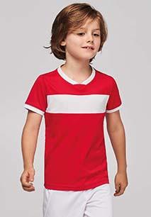 Camiseta equipaciones niño