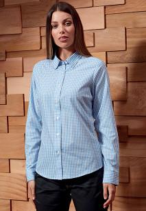 Camisa Vichy con cuadros grandes