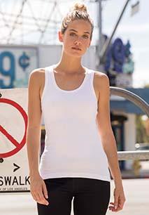 Camiseta sin mangas mujer